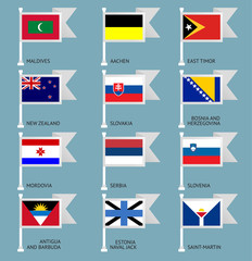 Flags set four-12