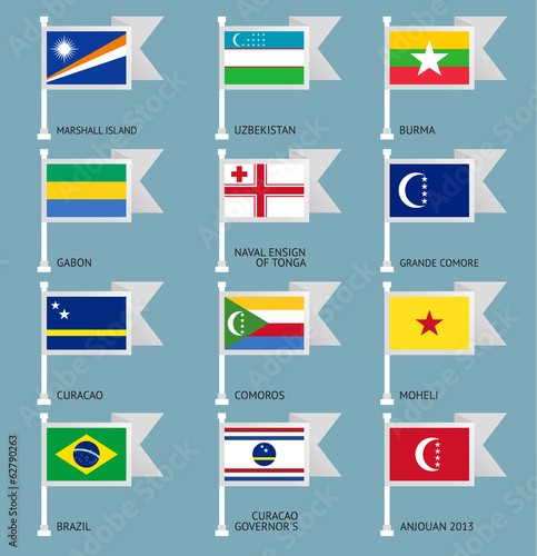 Flags set four-11