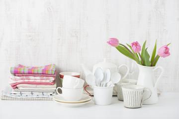 布巾 チューリップ キッチン雑貨
