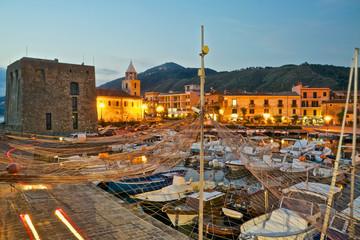 Acciaroli village from the harbor