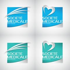 societe medicale paramedical pharmacie sante medecine logo