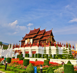 Hor Kum Luang in Chiang Mai province of Thailand