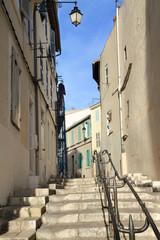 Vicolo assolato di Marsiglia