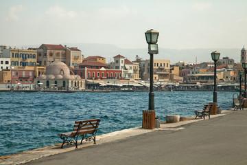 Греция. Крит. Старая набережная Ханьи
