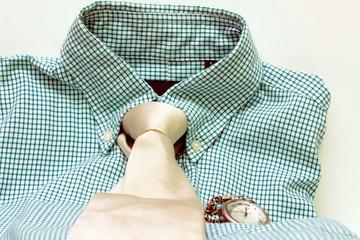 camicia con orologio