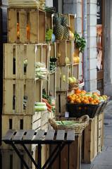 Greengrocer Fruttivendolo Verdulero Vihanneskauppias