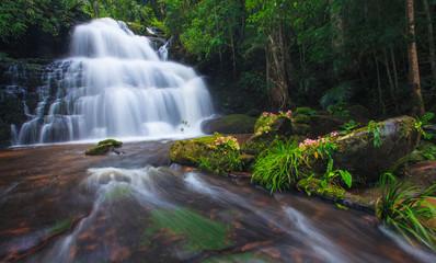 Mhundaeng waterfall Phu Hin Rong Kla National Park, Phitsanulok