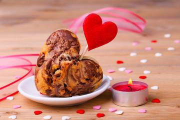 Kleiner Kuchen mit Herz!