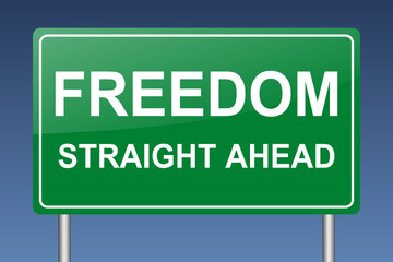 freedom straight ahead