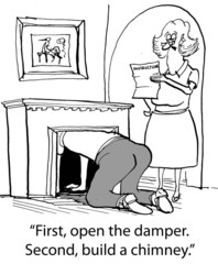Open damper