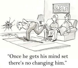 No changing husband
