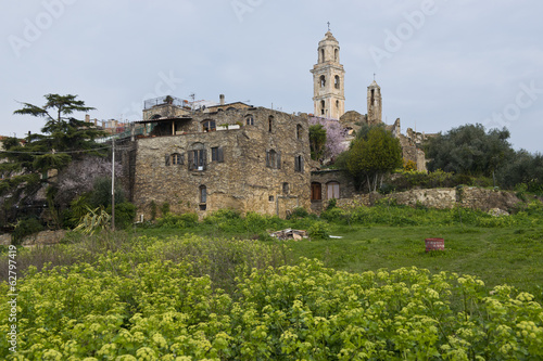 The ancient village of Bussana Vecchia