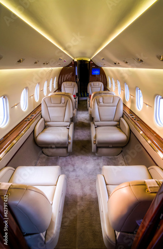 Private Jet - Interior Cabin