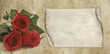 Mothers Day Roses Menu Banner Frame