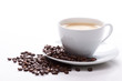 cup of coffee and beans - 62798665