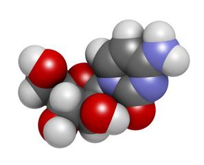 Cytarabine (cytosine arabinoside, Ara-C) chemotherapy drug