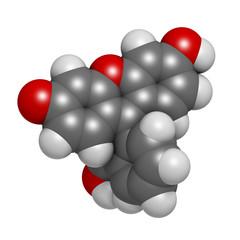 Fluorescein fluorescent molecule.