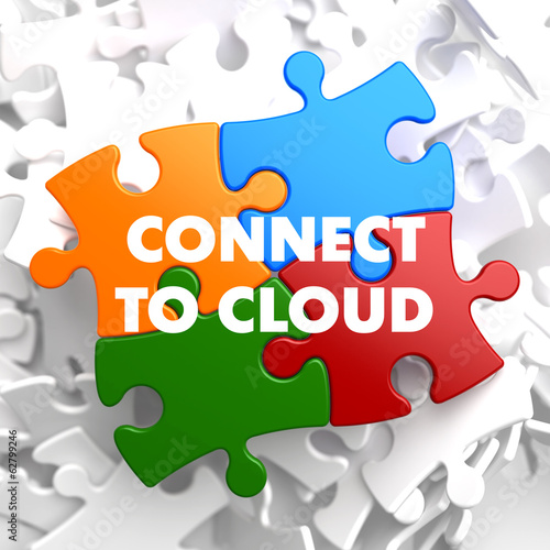 Connect to Cloud on Multicolor Puzzle.