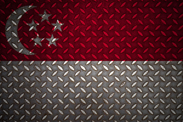 singapore Flag Seamless steel diamond plate