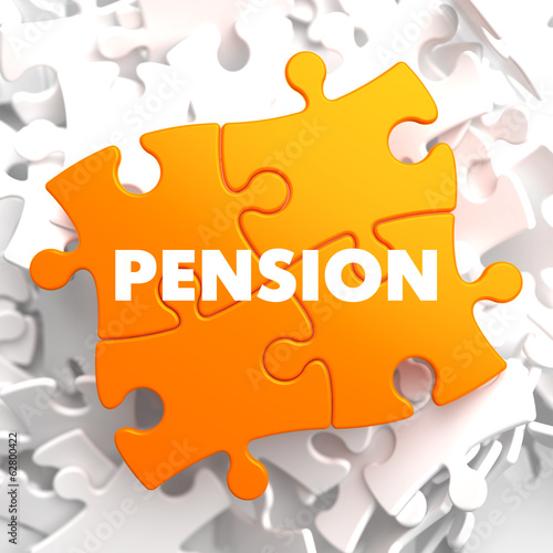 Pension on Orange Puzzle.