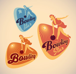 Bowling labels