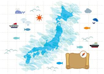 日本_地図