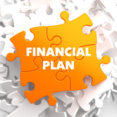Financial Plan on Orange Puzzle.