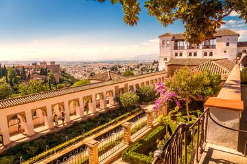 Alhambra, Aussicht über Granada