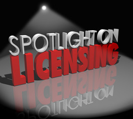 Spotlight on Licensing Words Information Advice Official License