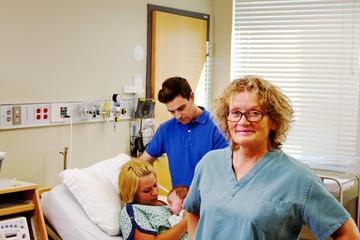 Profile of older maternity nurse