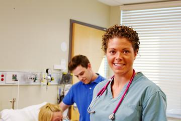 Profile of maternity nurse