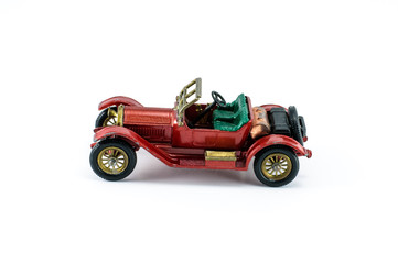 toy model car red color