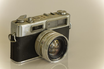 sepia old camera
