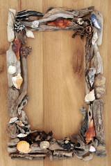 Driftwood on Oak Border