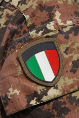Scudetto tricolore - Military shield