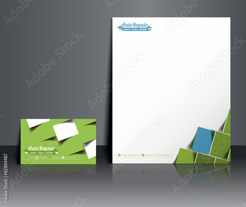 Travel Agent Corporate Identity Template