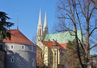 Goerlitz Ochsenbastei und Peterskirche 01