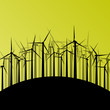 Wind electricity generators and windmills detailed ecology elect