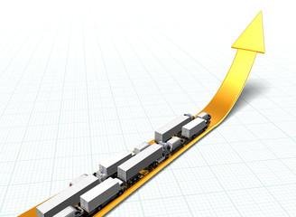 golden_arrow_with_trucks