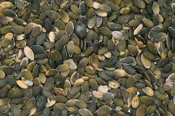 hulled pumpkin seeds