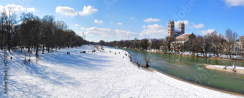 Munich during winter