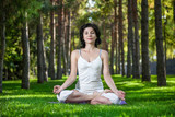 Meditation in the park