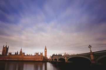 Westminster long exposure
