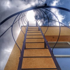 Leiter in den Himmel