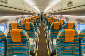 Commercial Aircraft / Airline - Cabin Interior
