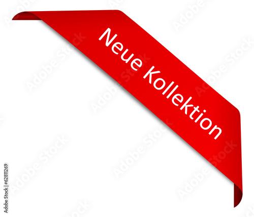 Schild Neue Kollektion