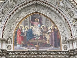 Portada de Il Duomo (Florencia, Italia)