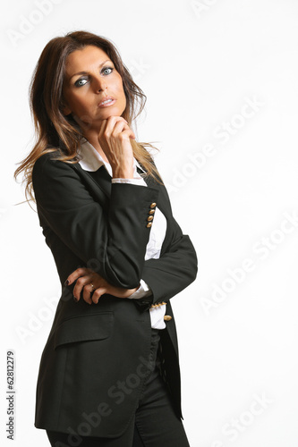 Business portrait of a beautiful woman