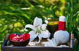 spa in garden - 62812409