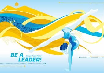 be a leader_ gymnastics